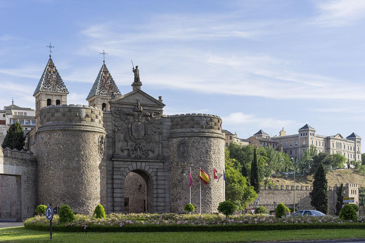 what to visit in Toledo, qué visitar en Toledo Puerta de Bisagra