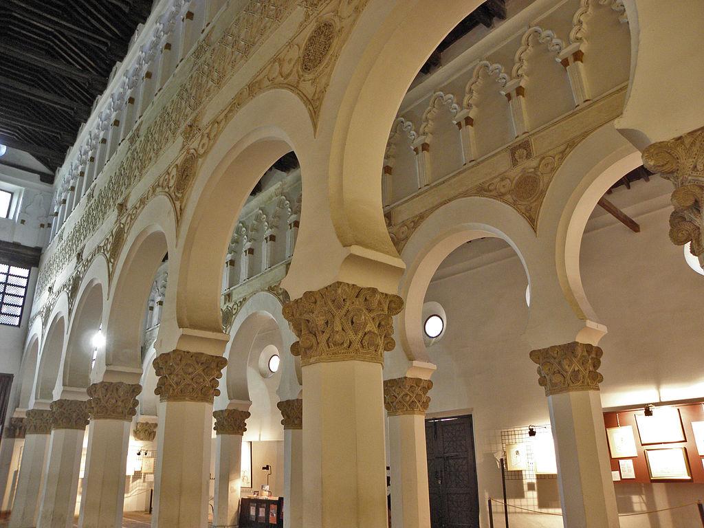 what to visit in Toledo, qué visitar en Toledo sinagoga Santa María la Blanca